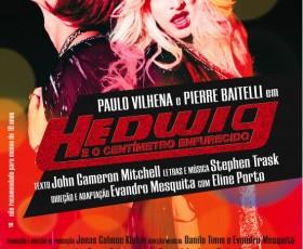 Musical Hedwig e o Centímetro Enfurecido no Rio