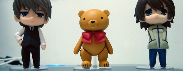 Nendoroids de Junjou Romantica - fotos e impressões