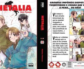 Mangá de Hetalia e novel Gravitation Blue no Brasil em Dezembro