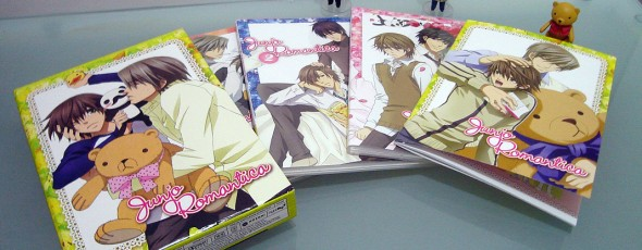DVDs americanos de Junjou Romantica