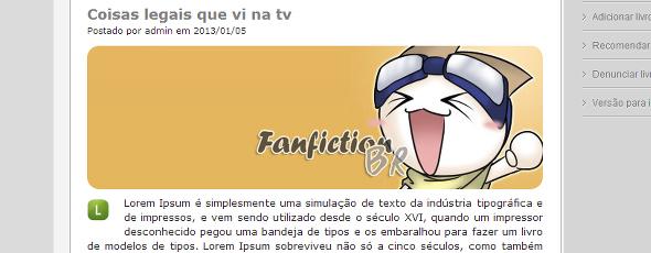 Fanfiction BR: nova plataforma nacional de fanfics!