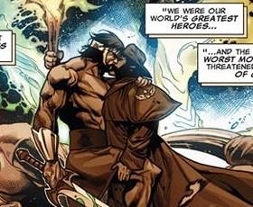 Wolverine e Hércules, o novo casal da Marvel