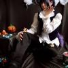 29.Cosplayer: Milena Pedrucci Idade: 24Personagem - Nezumi (versão fantasia de halloween)Serie: Nº6
