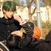 Midorima (Reika) e Takao - Kuroko no Basket
