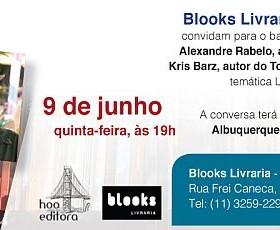 Debate sobre literatura LGBT com Alexandre Rabelo e Kris Barz